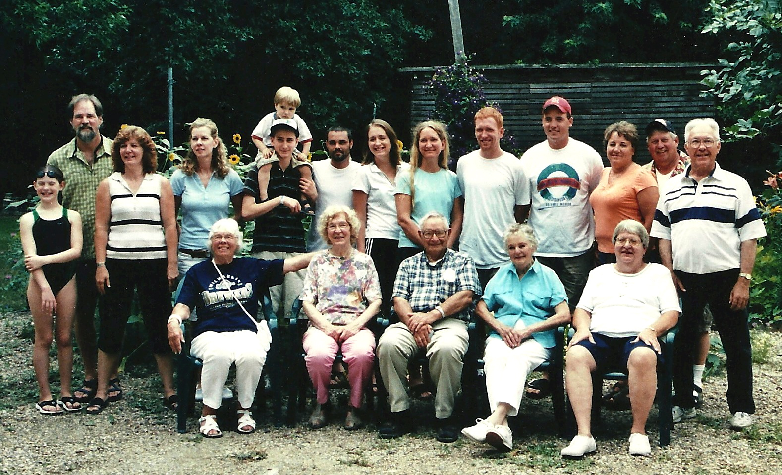 Some of Judge Knott Descendants 2006